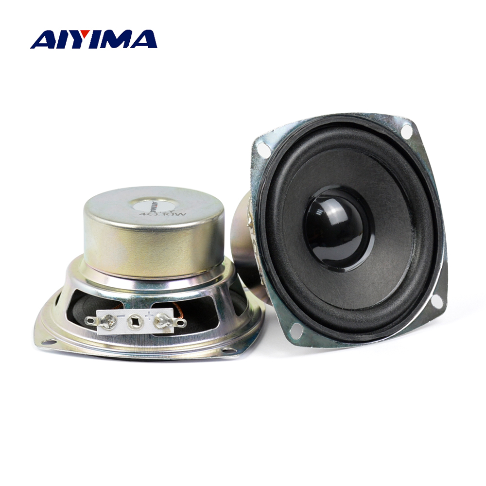 3Inch Audio Portable Speakers 4Ohm 10W Full Range Speaker High Power DIY Multimedia Speaker