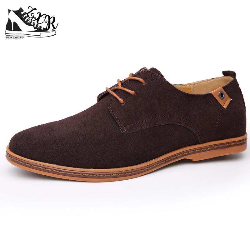 Men Casual Shoes New Fashion Comfortable Flat Men Oxford Shoes Lace-up Solid Winter Men Causal Shoes Footwear Hot