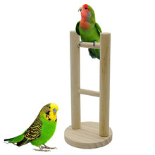 Traumdeutung Parrot Toys For Bird Stand Accessories Cage Decoration Perch Cockatiel Toy Budgie Parakeet jouet pour perroquet(China)