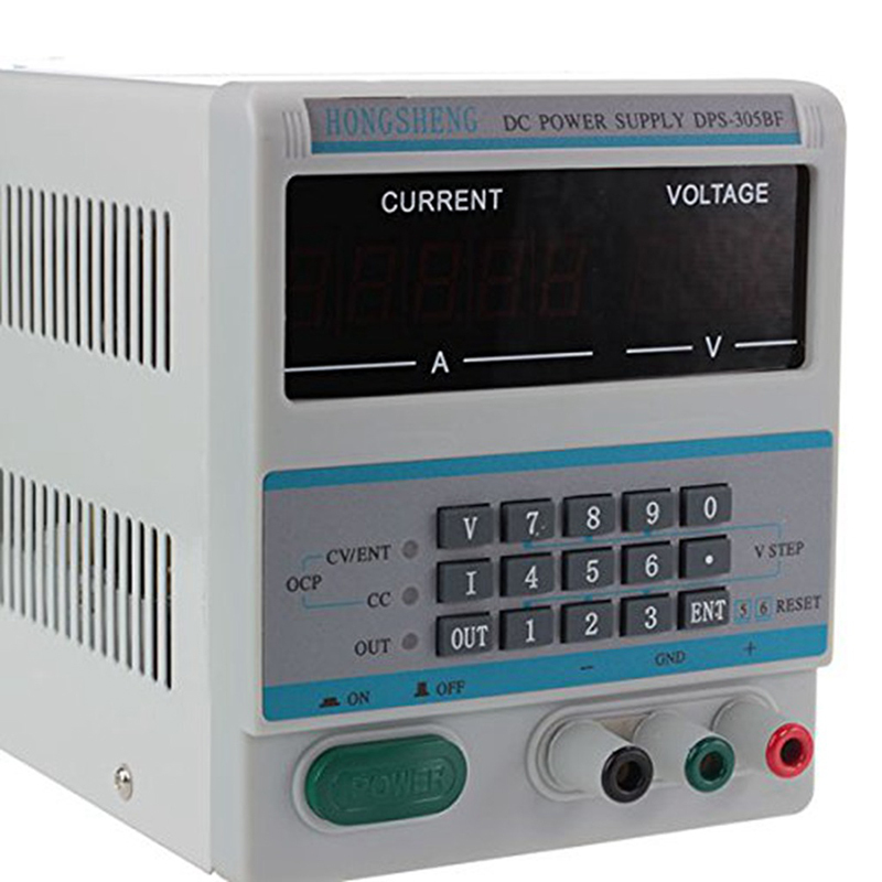 HONGSHENG DPS-305BF Display Digital Control Adjustable DC Voltage Regulated Power Supply DPS-305BF cps 6011 60v 11a digital adjustable dc power supply laboratory power supply cps6011
