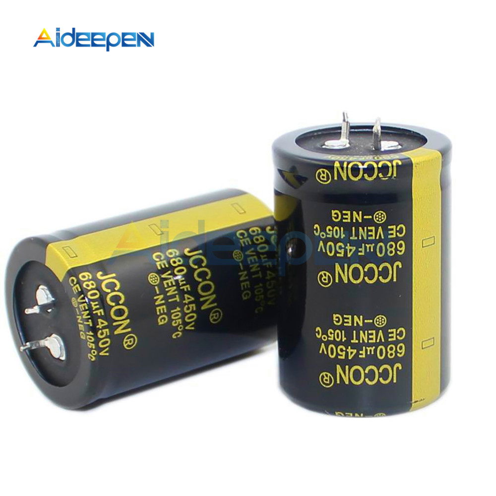 New 450V 680uF 450V Electrolytic Capacitors Volume 35X50MM High Frequency Low ESR 35*50mm image