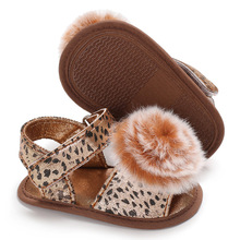 Leopard Soft Sole PU Baby girls Canvas bow First Walkers Shoes Fashion Summer First walker toddler moccasins стоимость