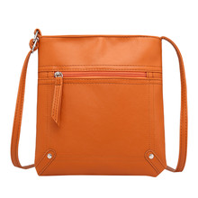 купить Bolsa Mujer Bags For Women 2019 Solid Color Phone Bag Small Square Bag PU Leather Classic  Messenger Bag Chain sac a main 621 дешево