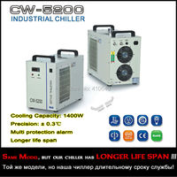 CW 5200AH Industrial Chiller For Laser Machine LONGER LIFE TIME CW 5200 cooler for laser equipment
