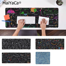 лучшая цена MaiYaCa Hot Sales Boy Gift Pad Geometric formula Comfort Mouse Mat Gaming Mousepad Free Shipping Large Mouse Pad Keyboards Mat