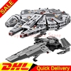 LEPIN 05008 The Force Awakens Sith Infiltrator 05010 Resistance Army Cavalry Transport Assembling Star Wars Clone