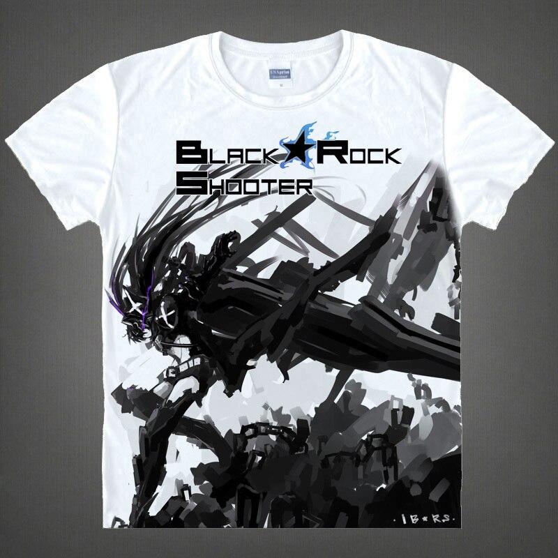 Black Rock Shooter Mato Kuroi Anime geschenke Weihnachten T shirts Japanischen anime 3d drucken Cosplay t shirt Herren t shirt t shirt in Black Rock ...