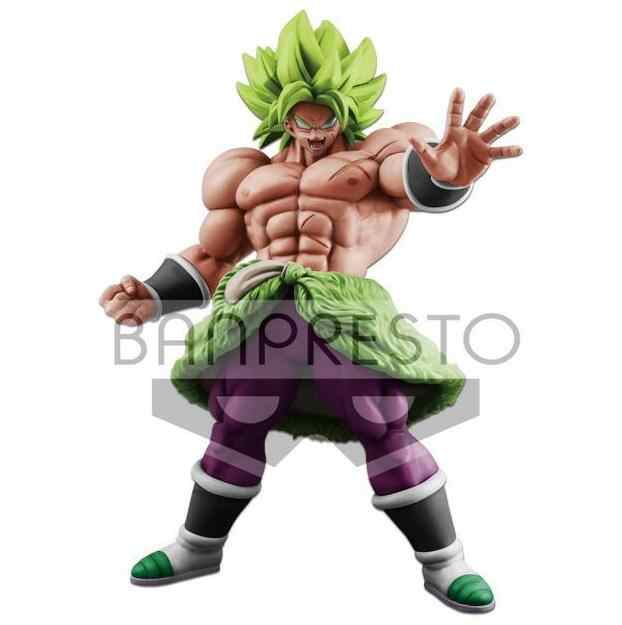 Anime Dragon Ball Z the 20th Filme Super Saiyan Broly Ver. PVC Action Figure Toy Model Collection