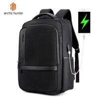ac25df1e43f Mens USB Charging Waterproof Backpacks 15 6inch Laptop Male Multifunction  Travel Bagpack Teenage Boys Girls School