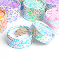 Free Shipping 48pcs/lot 5.5 x 3.5cm Mix Color Round Jewelry Packaging Ring & Stud Earring Gift Box #90117