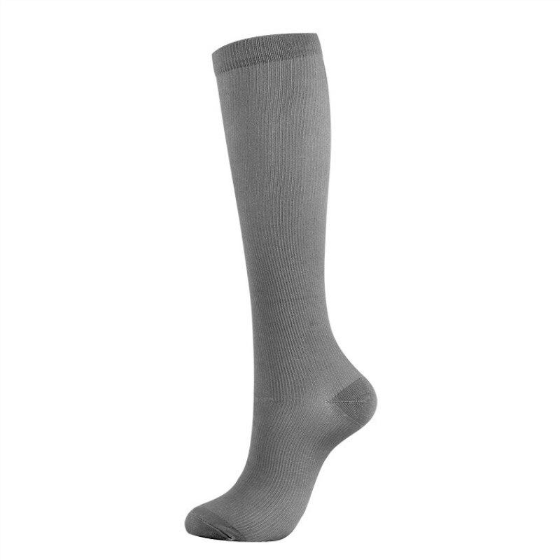 Jeseca 1 Pair Unisex Socks Compression Stockings Pressure Varicose Vein Stocking Knee High Support Stretch For Women Men Socks
