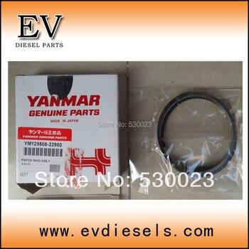 สำหรับเครื่องยนต์Y Anmar 4TNV84แหวนลูกสูบ129004-22500 129508-22950