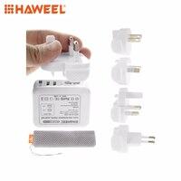 Haweel мини-автомобиль Зарядное устройство Dual USB Великобритании ЕС США разъем АС Путешествия Мощность адаптеры для Ipad и мобильный телефон для ...