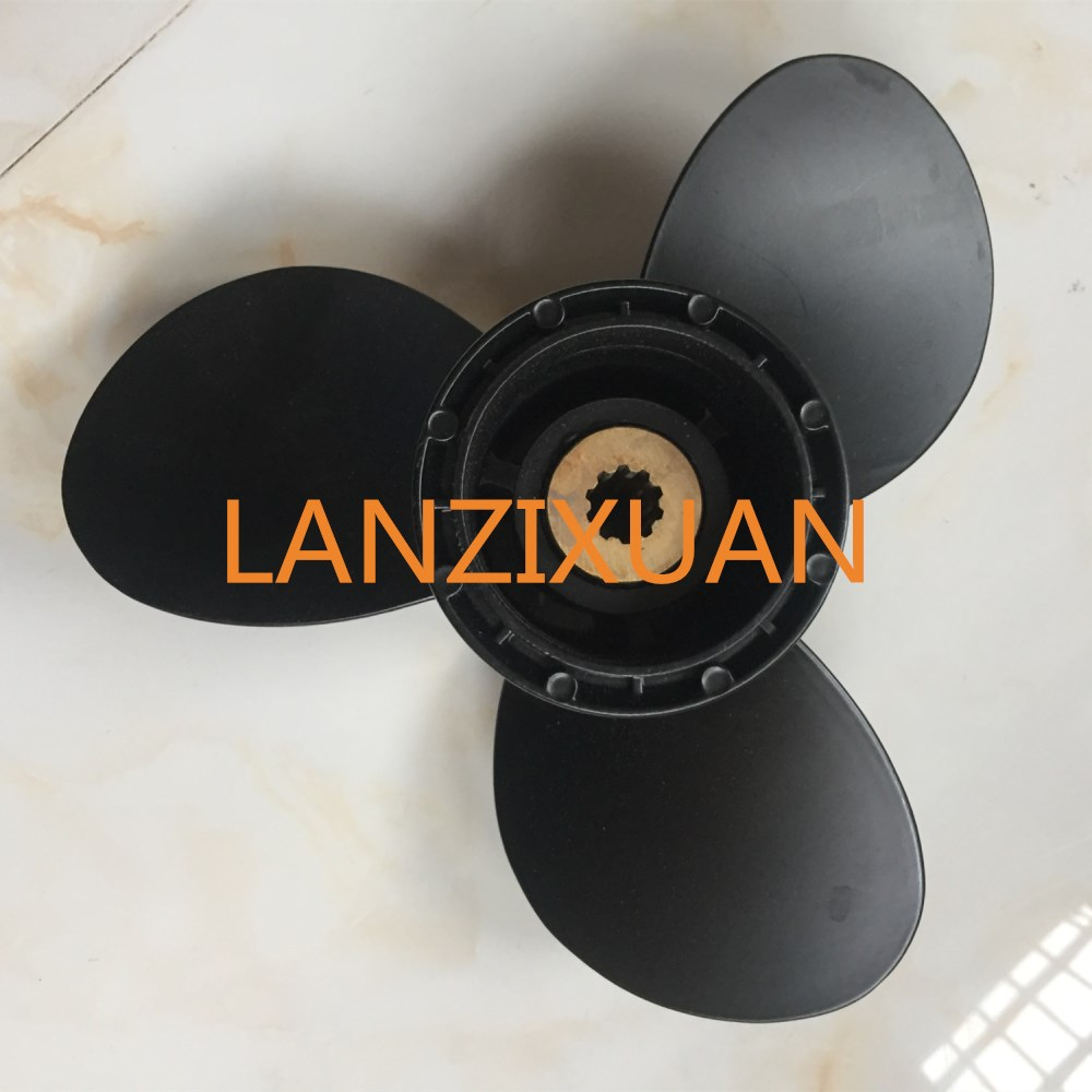 9 1/4 x 11 R Boat Motor Aluminum Propeller for Suzuki DF9.9 DF15 DF20 DT15 DT9.9 Outboard Engines 58100-93743-019 купить в Москве 2019