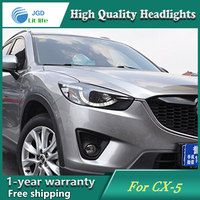 High Quality Car Styling Case For Mazda CX 5 Headlights LED Headlight DRL Lens Double Beam