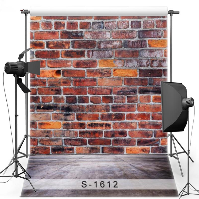 Brick Wall Vinyl Photography Background For Newborn Ground Oxford Backdrop For Children Photo Studio Props 1612