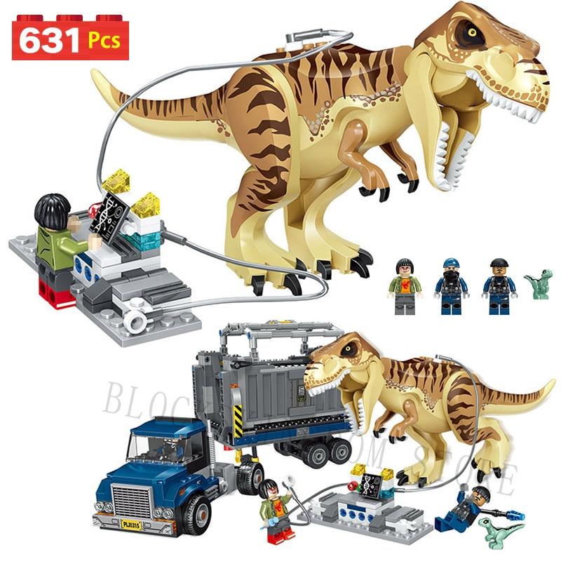 LegoINGLYS Dinosaurs Jurassic World Movie 2 Tyrannosaurus Blocks Rex Mini Movie Kid Baby Toys Model Brick For Children часы mini world mn1012a