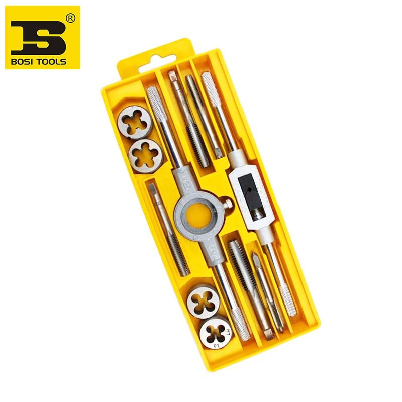 free shipping BOSI 12PCS thread taps set