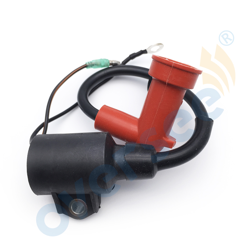 IGNITION COIL Assy fit Yamaha Outboard Parsun 9.9HP 15HP 15 9.9 E 63V-85570-00