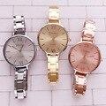 2015 Nueva Moda GINEBRA Marca Relojes Hombres Reloj de Cuarzo de Acero Inoxidable Mujeres Reloj de Lujo Reloj de Los Hombres relogio masculino hombres