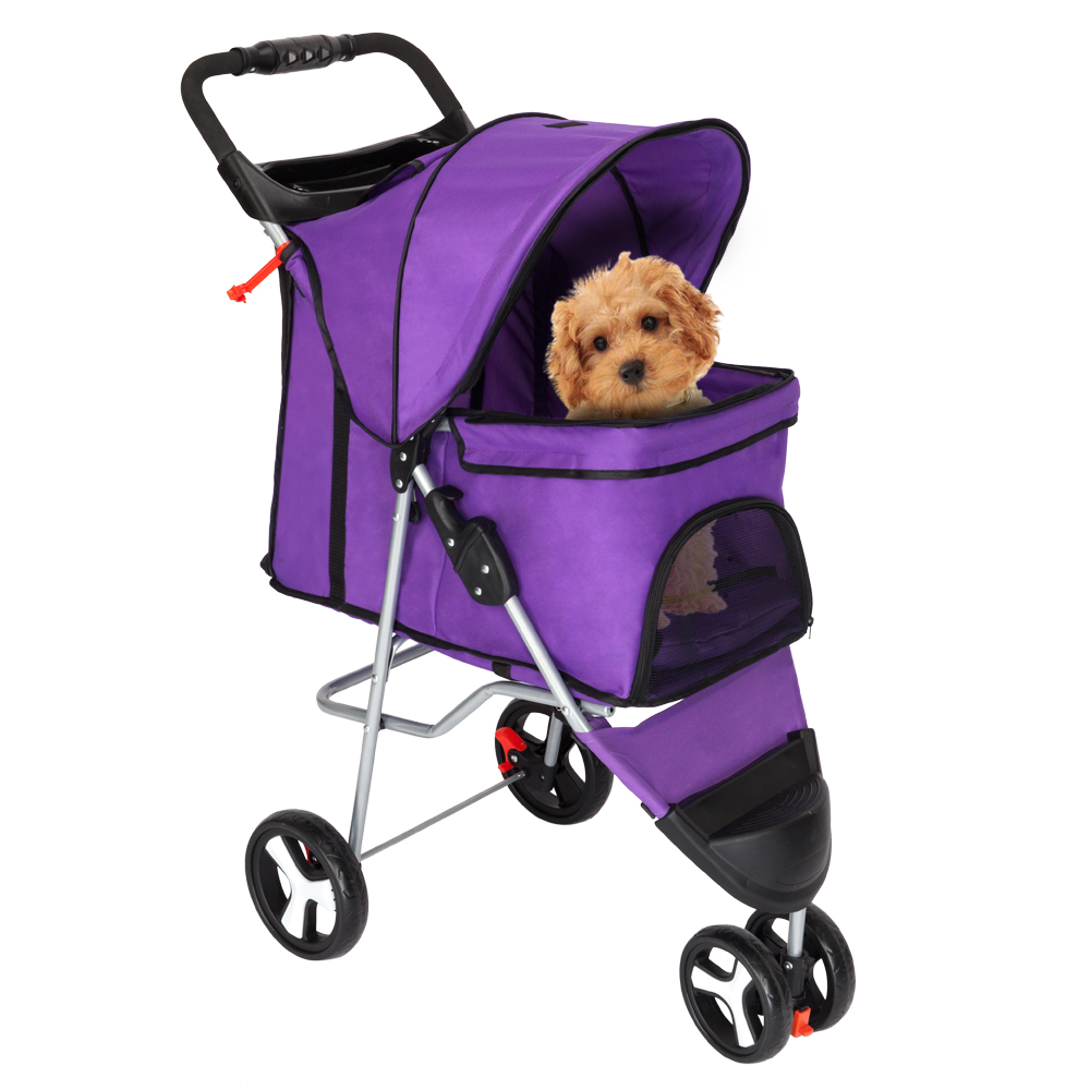 Outdoor Folding dog cart Portable Pet trolley Pet Strollers Dog Cat Travel bag dog luggage stroller carrier