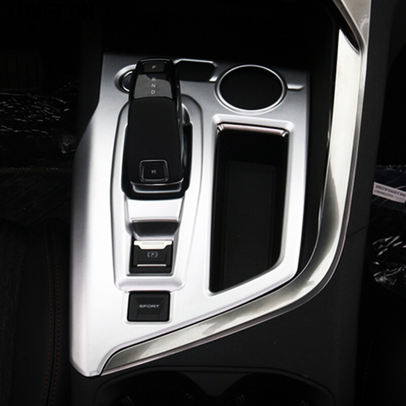 Abaiwai For Peugeot 3008 GT 2017 2018 ABS Car Interior Central Console Gear Shift Panel Box Cover Trim Car Styling Accessories