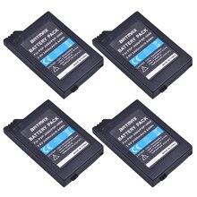 4Pcs 3.6V 2400mAh PSP 2000 Batteries for Sony PSP2000 PSP3000 Console 4pcs 3 6v 2400mah psp 2000 batteries for sony psp2000 psp3000 console