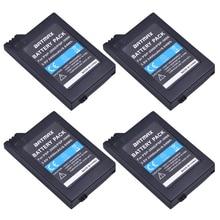 4Pcs 3.6V 2400mAh PSP 2000 Batteries for Sony PSP2000 PSP3000 Console
