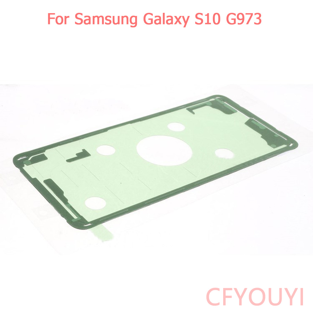 For Samsung Galaxy <font><b>S10</b></font> G973 Battery Back Door Cover Housing Adhesive <font><b>Sticker</b></font> Glue image
