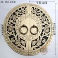 240mm Chinese antique Ming and Qing furniture, copper door copper door handle round DB-185 KF208