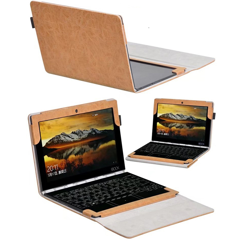 DHL/EMS Free Folio Stand PU Leather Keyboard Case Cover(Can Put Keyboard)For Lenovo Yoga Book Tablet PC 10.1 inch dhl ems sumitomo ja761298ac fp5 sh1 circuit keyboard w o plate cover a1