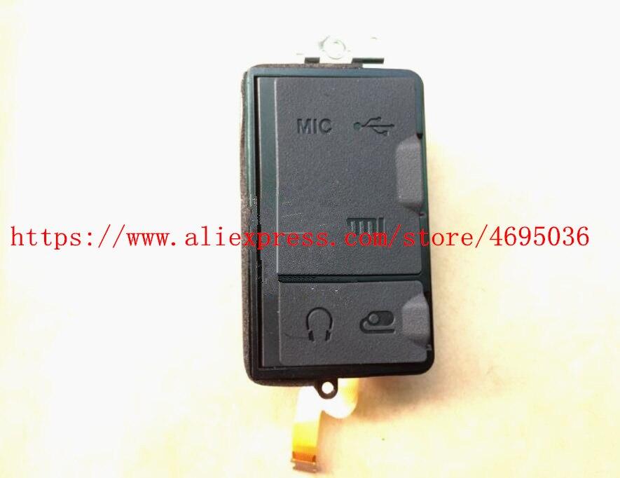 Original For Nikon D7500 Camera Side USB GPS HDMI MIC Rubber Cover Case Door Lid Cap