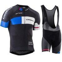 ORBEA 2017 Cycling jersey Short sleeve Summer Breathable Cycling Clothing Pro MTB bike jerseys Ropa Ciclismo Bib shorts