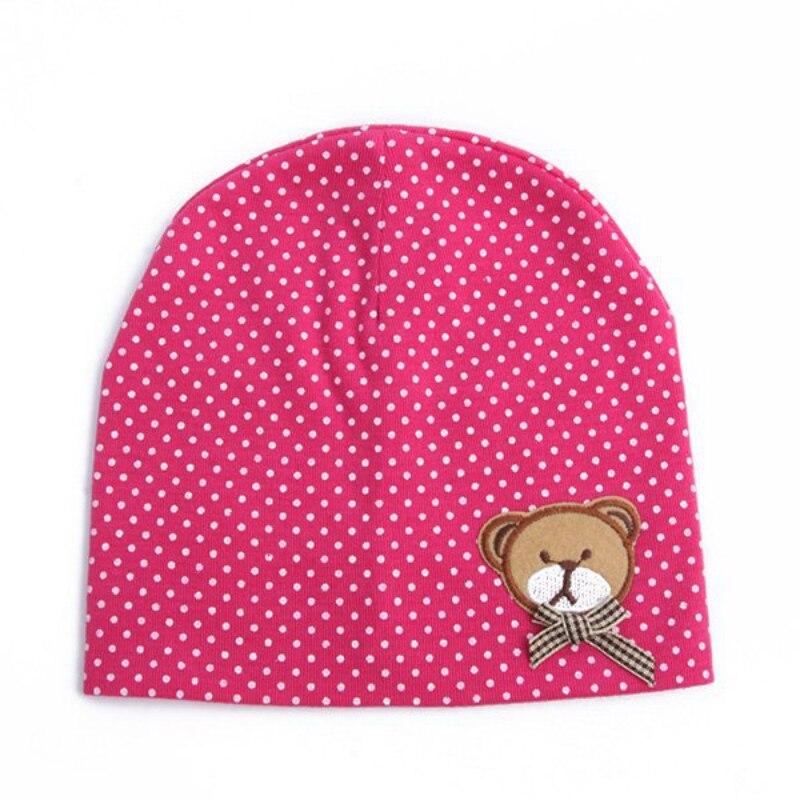 Aranyos medve pontok kalap baba gyerekek csecsemő fiúk lányok - Bébi ruházat