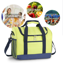 Outdoor Waterproof Lunch Bag Cooler Bag Thermal Aluminum Foil Food Picnic Insulation Bag Beach Barbecues Camping Fresh Ice Pack цена 2017