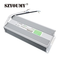 SZYOUMY LED Power Supply Electronic Driver Transformer 12V 250W 20.8A Waterproof IP67 For LED Strip Light AC 100~250V to DC 12V