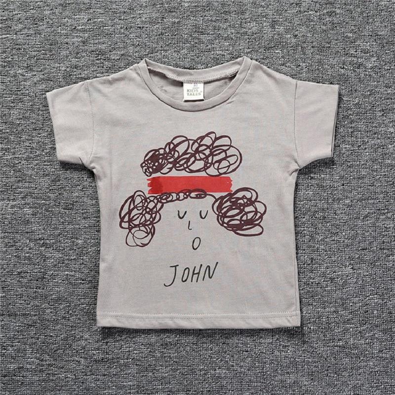 2018 Új Bobo Choses 0-6Y Gyerek pamut póló felsők fiúk lányok póló gyerekek póló kisgyermek baba ruházat nyári ruhák