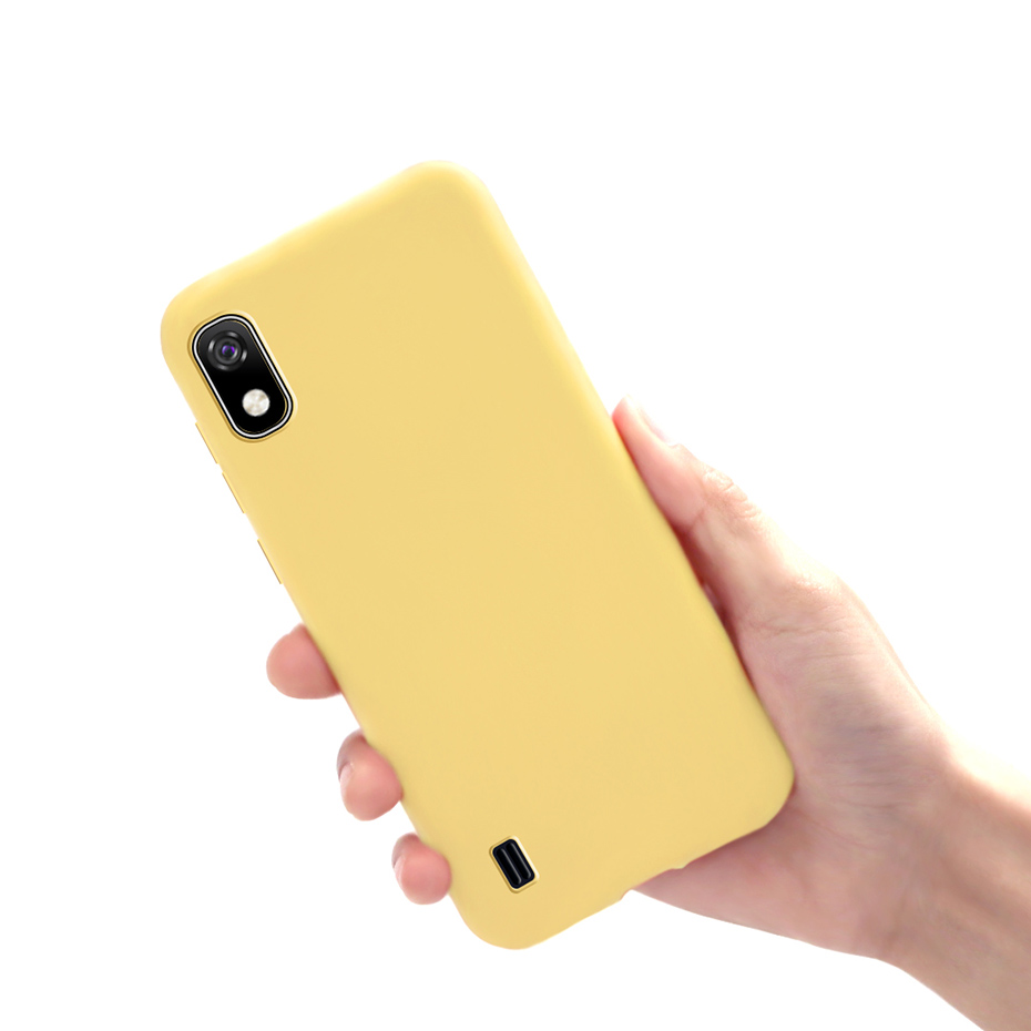 Soft Silicone Matte Bumper Coque Phone Cover TPU Cases For Funda Samsung A 10 A10 5