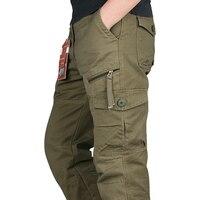 ICPANS 2018 Tactical Pants Men Military Army Black Cotton ix9 Zipper Streetwear Autumn Overalls Cargo Pants Men military style