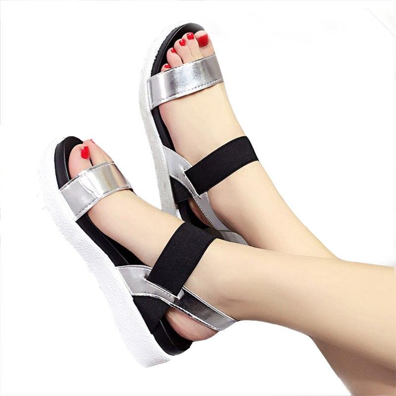 ZHENZHOU Gruaja e Këpucëve 2018 sandale verë Leopard grash sandale - Këpucë për femra - Foto 2