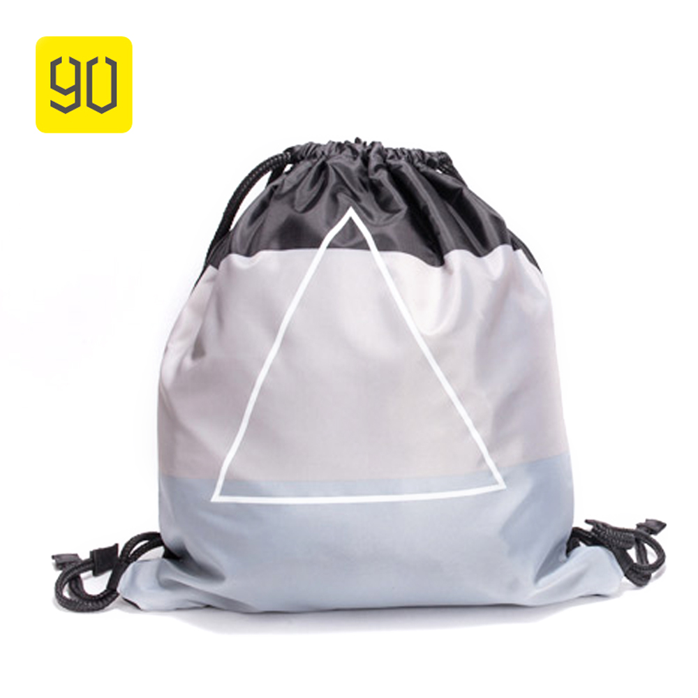 Xiaomi 90 Fun Waterproof Drawstring Bag Women Portable Backpack School Girls Printed Mochila Durable Travel Rucksack