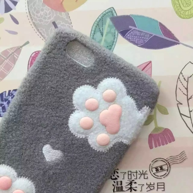 Case Iphone Cat Paw 2 kolory  6/6S