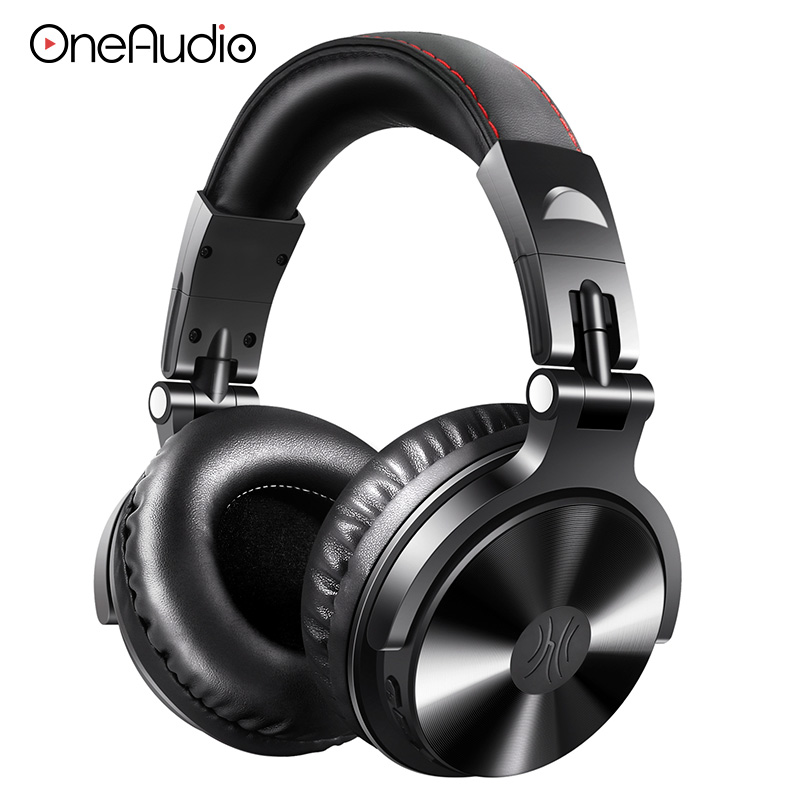 OneAudio Bluetooth V4.1 Headphone Foldable Over Ear Stereo Wireless Headset Studio Headphones With Microphone For Phone Computer oneaudio original on ear bluetooth headphones wireless headset with microphone for iphone samsung xiaomi headphone v4 1 page 3