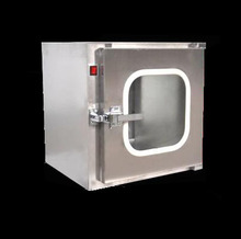 stainless steel  pass cabinet Disinfection box Ultraviolet sterilization