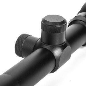 Image 4 - Luger 6 24x50 aoe caça escopo vermelho e verde iluminado mira óptica tático riflescope rifle para airsoft armas rifle