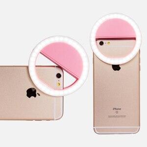 Image 4 - Selfie anillo teléfono móvil Clip lente lámpara de luz Litwod Led bombillas batería seca de emergencia para foto cámara bien Smartphone belleza