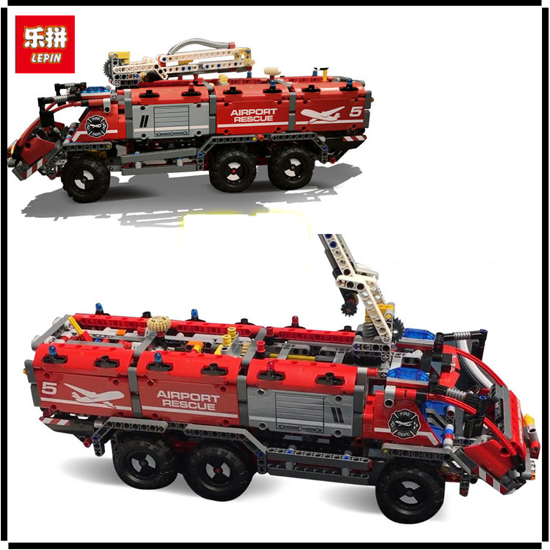 IN STOCK In Stock Lepin 20055 Genuine Technic Mechanical Series The Rescue Vehicle Set Educational Building Blocks Bricks Toys the rescue