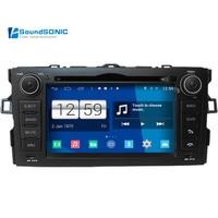 Android 4.4.4 для Toyota Auris 2008 2012 s160 автомобиля Интимные аксессуары DVD GPS навигации навигатор головного устройства авто Радио стерео Авто радио