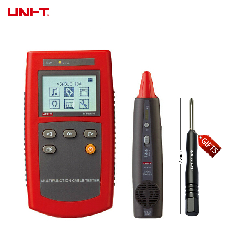 """UT681A Multi-Function Cable Finder Set 2.0""""LCD Display Resolution 128*6 UT-681A"""