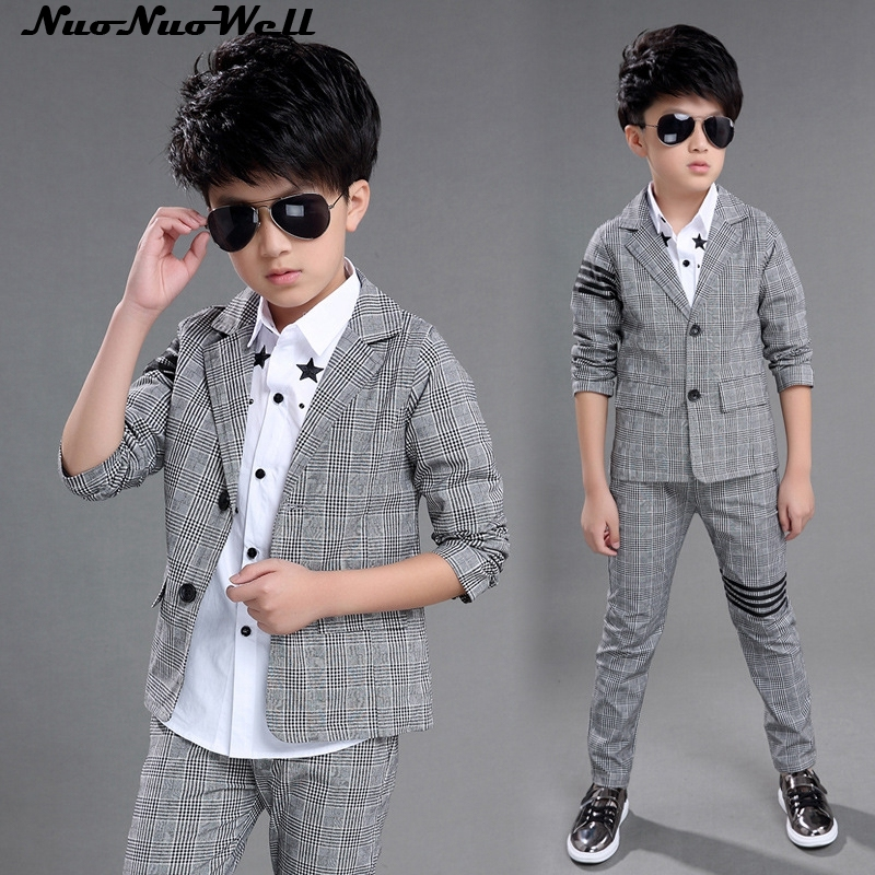 cheap for discount buy 100% genuine Teenager Boy's Blazers Suit Children Wedding Suits Party Clothing ...